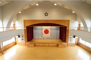 セカンドホール(講堂)