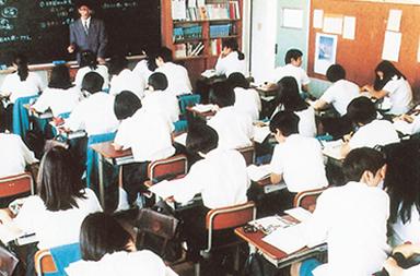 受験対策授業風景 平成8年頃